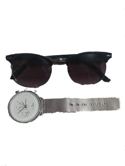 Kit Top Relógio + Óculos