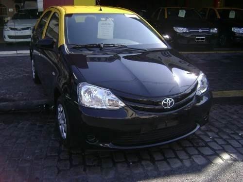 Taxis-toyota Etios´15- Los Gallegos-anticipo $650 Y Cuotas-