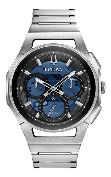 Relógio Masculino Bulova Curv Cronógrafo 96a205