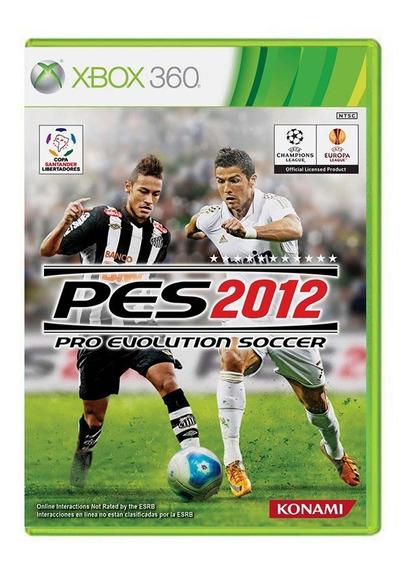 Pro Evolution Soccer 2012 - Pes 12 - Xbox 360 - Usado