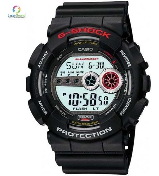 Relógio Casio G-shock Masculino Gd-100-1adr C/ Garantia E Nf