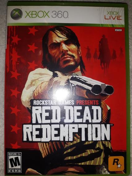 Caixa+manual+mapa Jogo Red Dead Redention X Box 360 Original