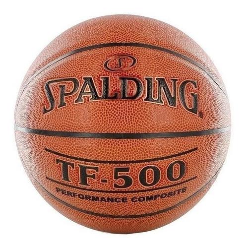 Balon De Basket Spalding Tf-500 Semi Cuero