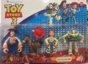 Kit Cartelado Boneco Toy Story C/4 Unidades