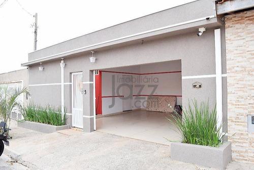 Casa Com 2 Dormitórios À Venda, 180 M² Por R$ 480.000,00 - Jardim Dall'orto - Sumaré/sp - Ca3916