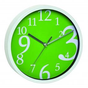 Relógio Alemão Números Grandes Design Verde