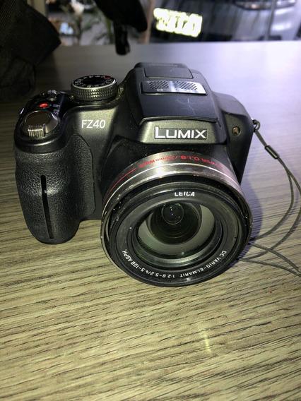 Câmera Digital Panasonic Semi-profissional Mod. Fz-40