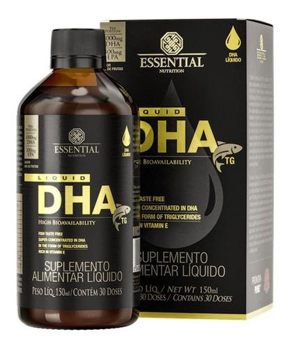 Ômega 3 Dha Tg Liquid 150ml - Essential Nutrition