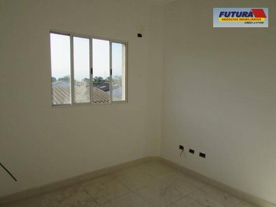 Casa Com 2 Dormitórios À Venda, 45 M² Por R$ 199.000,00 - Vila Cascatinha - São Vicente/sp - Ca0402