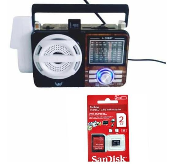 Radio Player Timer Kit Aparelho Para Canto De Pássaros