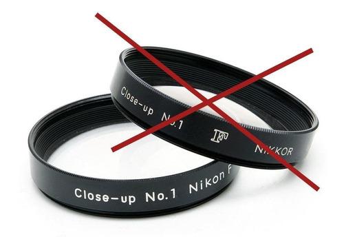 Imagen 1 de 1 de Nikon Macro: Filtro Close-up No.1, 52mm. Sin Estuche.