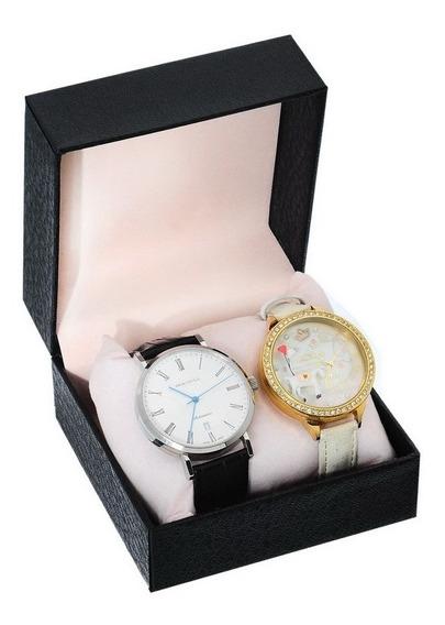 Estuche Relojero Relojes Porta Reloj Exhibidor Joyas Tienda