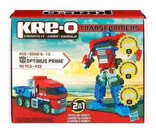 Kre-o Transformers Optimus Primer Conjunto De Construcción (
