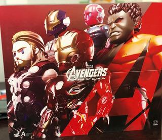 Avengers Marvel Hot Toys Artist Mix Series 2 Deluxe Set