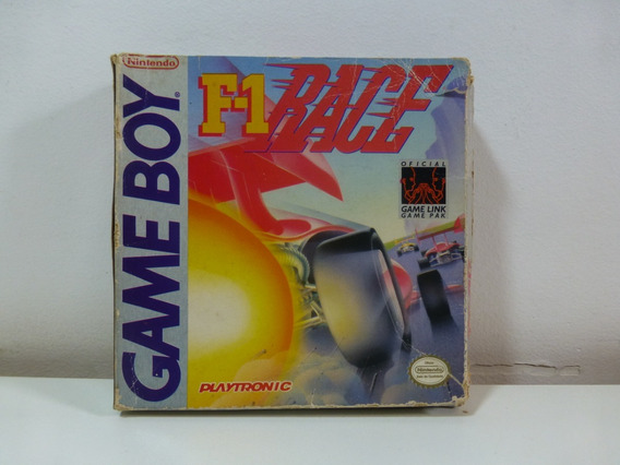 F-1 Race F1 Nintendo Game Boy Playtronic Nacional Cib
