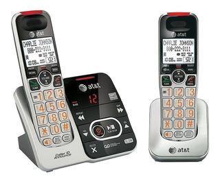 Teléfono Inalámbrico At&t Tl32200 Ideal Para Gente Mayor