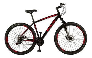 Bicicleta Aro 29 Aluminio Ez Fire Freio Disco Tamanho 19