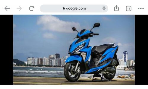 Honda Elite 125 Cc  Ano 2021 Com  Capacete