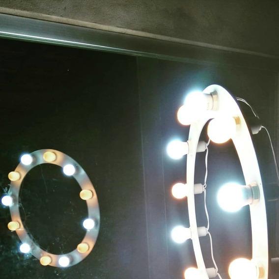 Ring Light Pra 12 Lâmpadas Com Tripé E Suporte Pra Celular