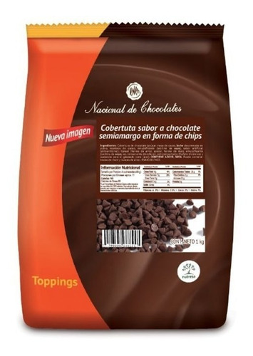 Chips De Chocolate Negros - kg a $21900