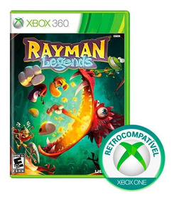 Rayman Legends Xbox 360 Xbox One Mídia Física