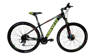 Bicicleta Mountain Bike Venzo Thorn Evo 24v Acera Disco
