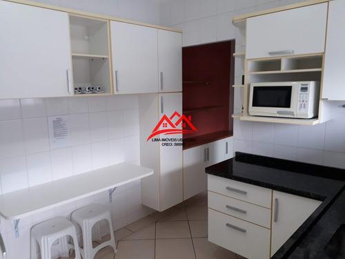 Apartamento Venda Praia Grande, Beira Mar, Mobiliado - 32085