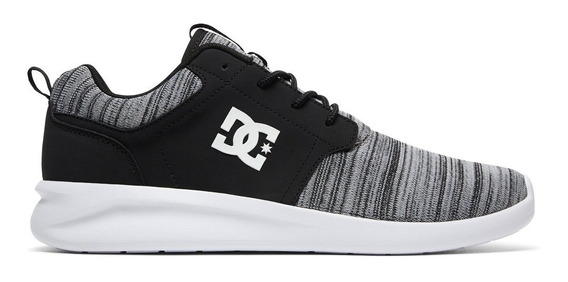 Zapatillas Dcshoes Midway Black Smashup