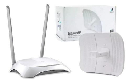 Kit Oferta Combo Litebeam M5 Lbe-m5-23 + Tp-link Tl-wr840n