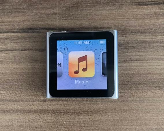 iPod Nano 6 Gen 8gb Cinza Usado
