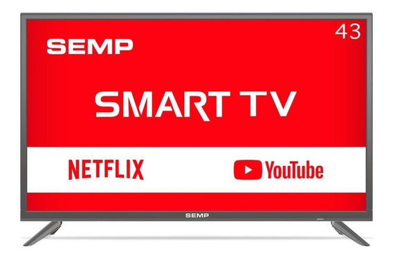 Smart Tv Led 43 Semp, Full Hd, Usb, Hdmi, Wi-fi - L43s3900
