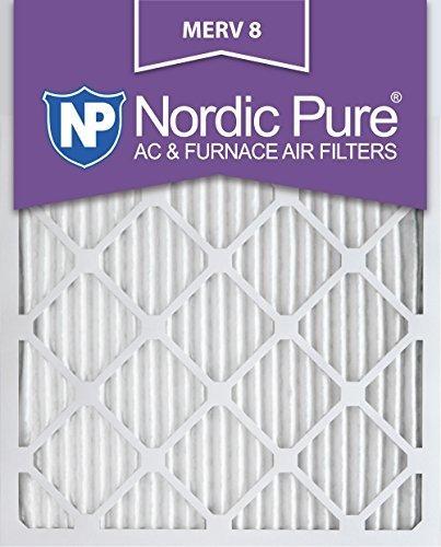 Nordic Pure 15x20x1m8-2 Merv 8 Ac Filtro De Horno 15x20x1 Pl