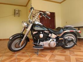 Fat Boy 2009 Aceito Moto De Menor Valor Na Troca + Diferença