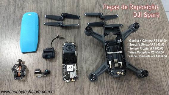 Dji Spark Peças - Gimbal Placa Sensor Shell Motor