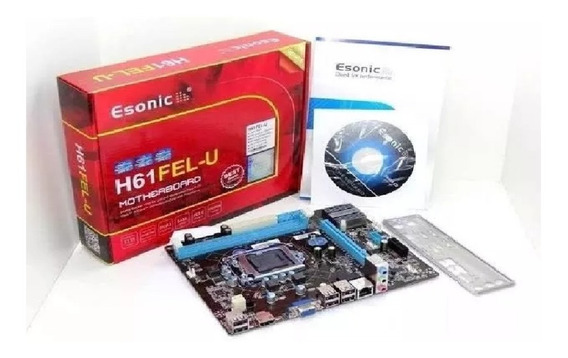 Kit Intel Core I5 3470 3.6 Ghz + Placa H61 + 8gb Ram Promoç