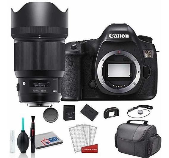 Camara Sigma 85mm F1.4 Dg Hsm Art Lente Canon Ef Bundle 8050