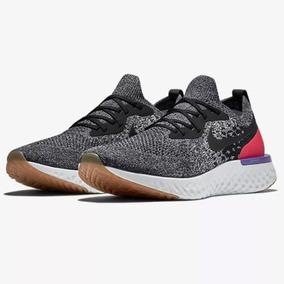 Tênis De Corrida Nike Epic React Flyknit Cinza Original