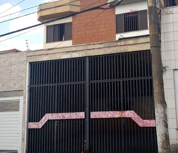 Sobrado Residencial À Venda, Tatuapé, São Paulo. - So0543