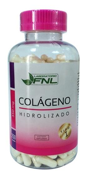 Oferta Colageno Hidrolizado 250 Capsulas Mercado Envios