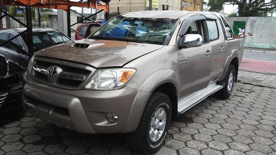 Sucata Toyota Hilux 3.0 4x4 Srv 2006 Retirada De Peças