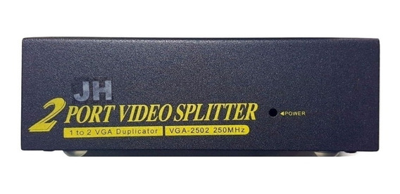 Splitter Vga 1x2 Jahro Distribuidor Señal Video Dj Todelec