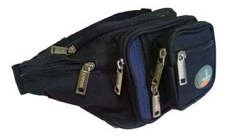 Pochete Masculina De Cintura Porta Objetos 8 Bolsos