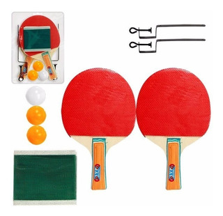 Ping Pong Tênis De Mesa C\ Rede,bolinhas,e Raquetes