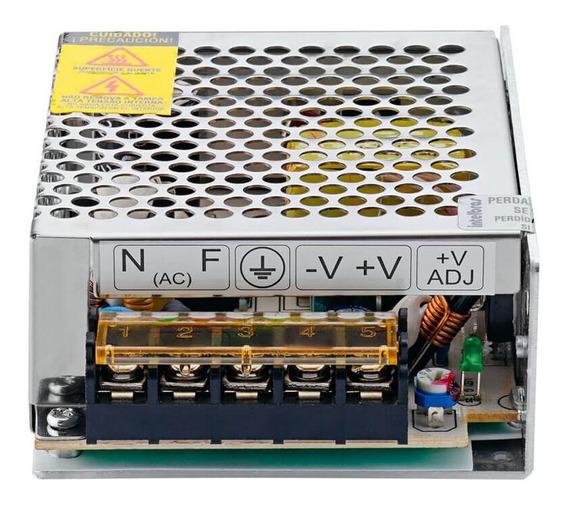 Fonte De Alimentação Cameras Cftv 12v 5a Efm1205 Intelbras
