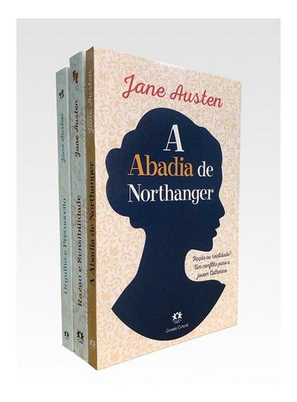Kit Com 3 Livros Jane Austen