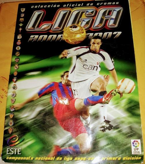 Album Con Estampas La Liga 2006-07 España