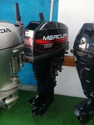 Motor De Popa Mercury 25 Hp Miami Nautica