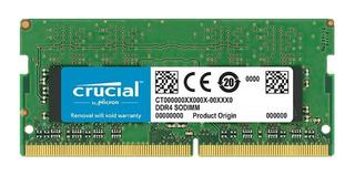 Memoria Ram Crucial 4gb 2666mhz Sodimm Ddr4