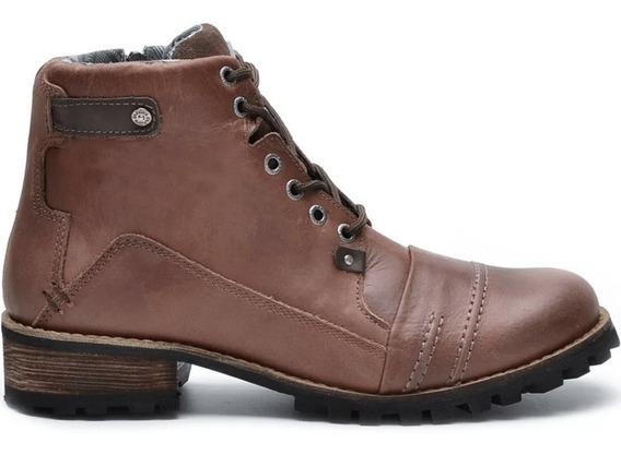 Sapato Bota Botinha Coturno Masculino Couro Frete Gratis 784