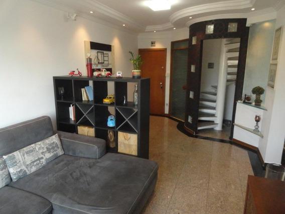 Cobertura Com 2 Dormitórios À Venda, 190 M² Por R$ 850.000 - Vila Belmiro - Santos/sp - Co0111